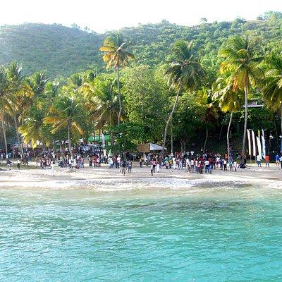A Jazz concert on the beach