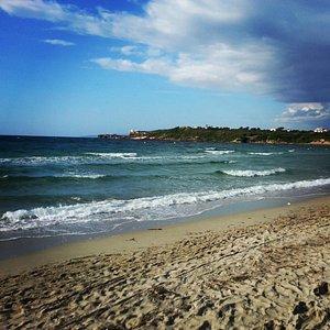 Spiaggia Le Saline ( foto modificata con Instantgram)