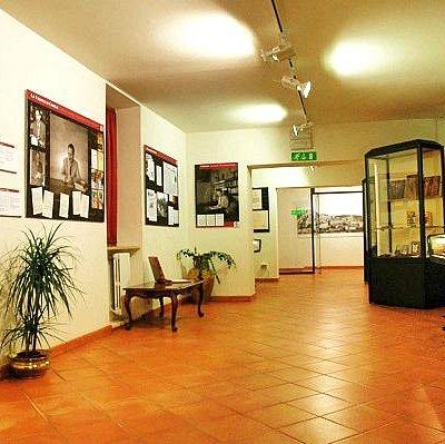 Parte dell'interno del Museo Ignazio Silone