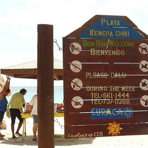 regras Playa Kenepa Chiki