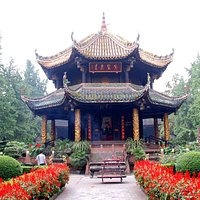 Octagonal Pavillon at the Qingyang Taoist Temple in Chengdu