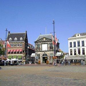 Plaza Markt, Gouda, Holanda.