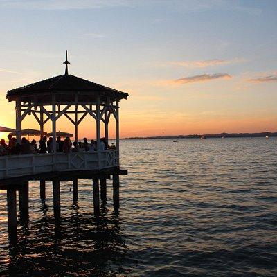 Bregenz Lake Sunset