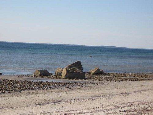 Best beach for small children shelterd creek/marsh for playing & fishing