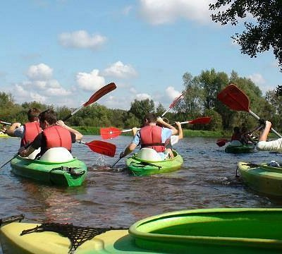 A kayaking trip down the Pilica River