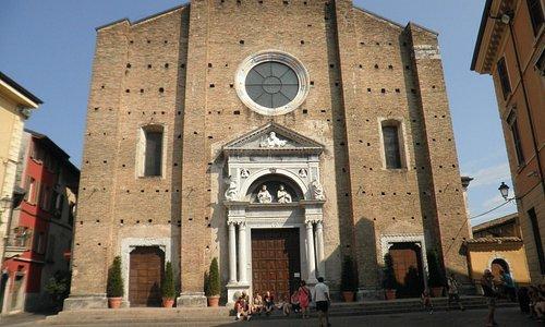 Facciata del Duomo di Salò