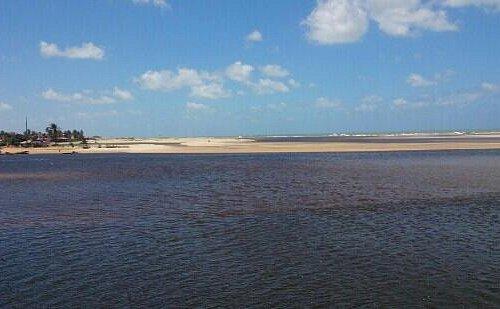 Praia Barra do Rio, vista da Pousada Villa do Sol