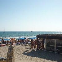 belissima praia, povo bacana e educadissimos