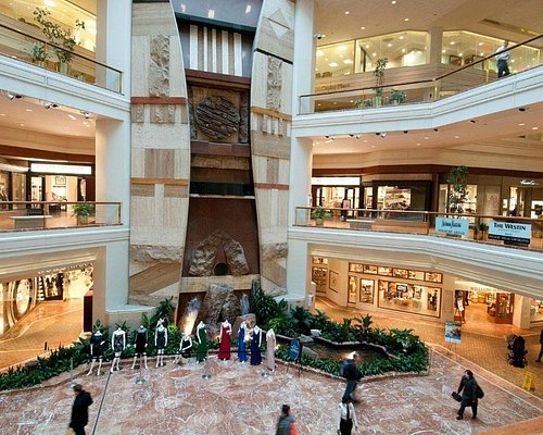 Discover upscale shopping at the 75 stores inside Copley Place.