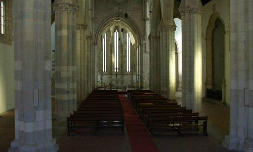 The end of the nave.