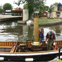 Steamboat at the Museum of the Norfolk Broads
