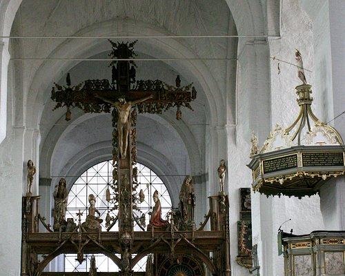 Cross on rood screen