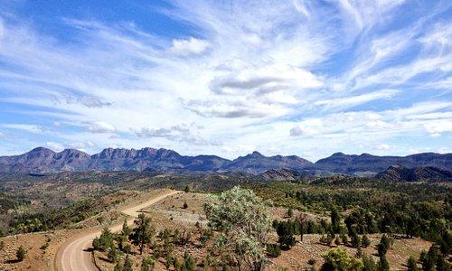 Amazing skyscape @ Razorback Lookout