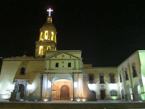 Templo de la Santa Cruz de los Milagros.