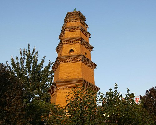 The Hua pagoda Xi'an