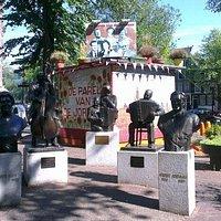 Photo of Johnny Jordaanplein / Beeld Johnny Jordaan taken with TripAdvisor City Guides