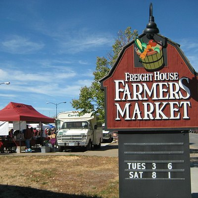 Freight House Farmers Market, West River Drive