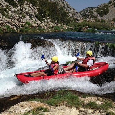 Kayak/canoe safari on river Zrmanja - Obrovac4