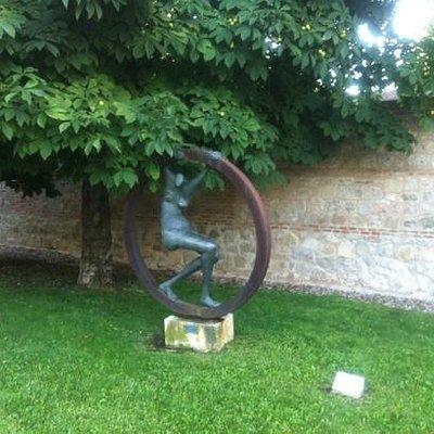 Escultura de Carlos Prada