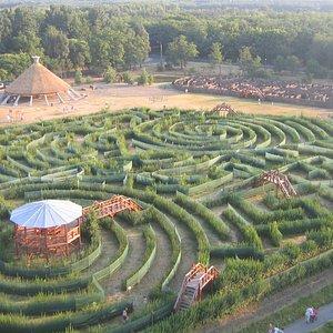 Hedge maze (3,5 km)