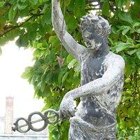 Statue du jardin