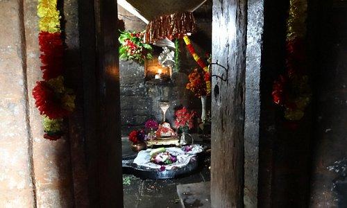 Vriddha Jageshwar Sanctum Sanctorum