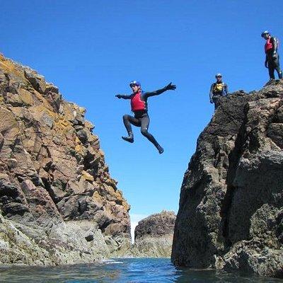 Coasteering at Aberdeen