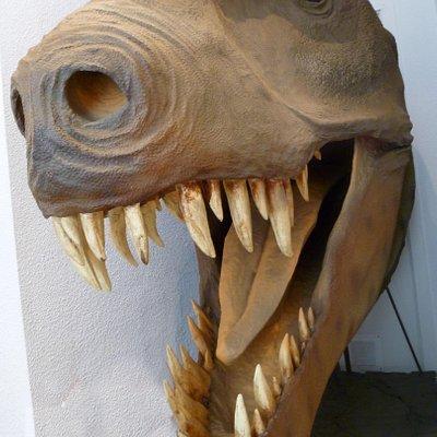 Maqueta de Tiranosaurio