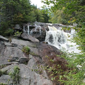 These are the upper falls!