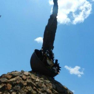 Monumento al Cimarron.
