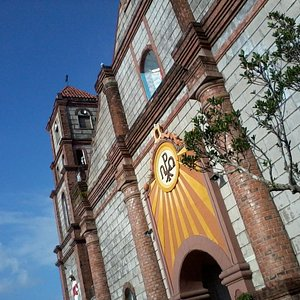 the 1590 Bauang Church