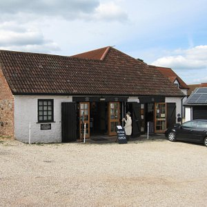 Whimple Heritage Centre, seen from the car park of the New Fountain Inn