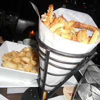 Calamari & Truffle Fries