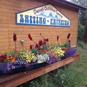 The kayak flower box.