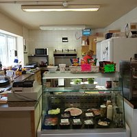 Sam's cafe counter