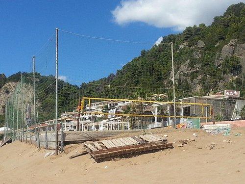 Beach Volleyball Möglichkeit