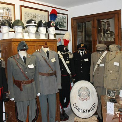 sala dedicata ai carabinieri reali