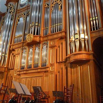 Orgel im kl. Konzertsaal