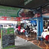 Iquique, Chile. Terminal Agropecuario. Lugares donde comer.