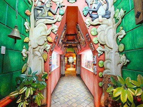 Entrada del Museo del Jade