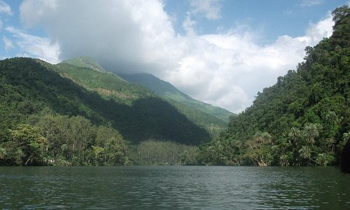 View of the valley from Renuka Lake