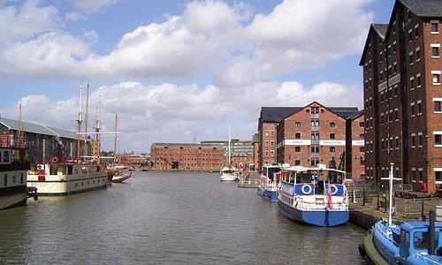 Gloucester historic dock