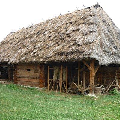 Badea Cartan Museum , traditional romanian house