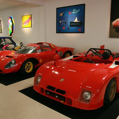 Abarth 3000, Ferrari 206 SP ed Opere d'arte del Museo MOGAM www.mogam.it