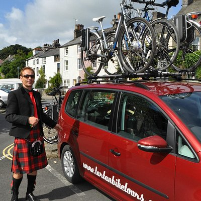 Johann and the Tartan Bicycle Company