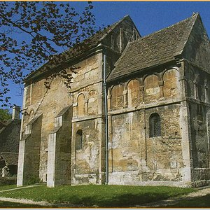 The Saxon Church believed to date to the eighth century