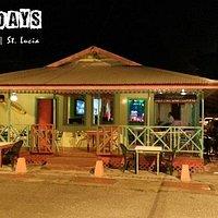 Frydays Bar & Restaurant   Gros Islet St. Lucia