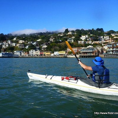 Beautiful Sausalito from the water