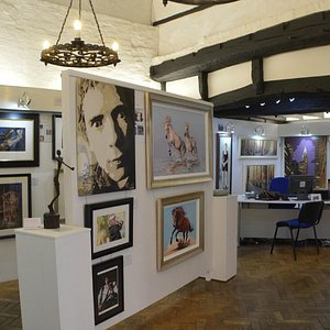 Inside the take to art Gallery