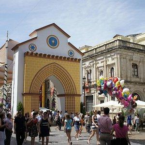 Festividad del Corpus en la Plaza de San Francisco